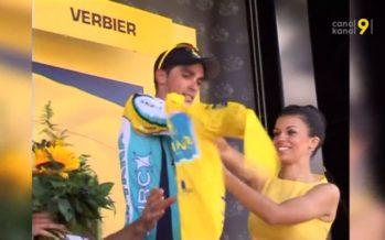 Vainqueur en 2009 de la 15e étape du Tour de France à Verbier, Alberto Contador sera au départ du Tour des Stations le 19 juillet