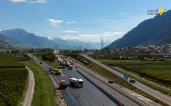 Autoroute A9: en mauvais état, le viaduc de Riddes est maintenant interdit à tout véhicule excédant 3,5 tonnes