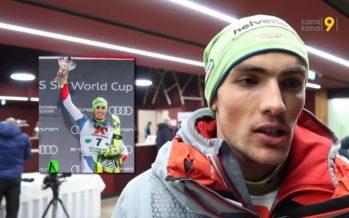 Nouveau podium pour Daniel Yule mardi soir lors du slalom nocturne de Schladming