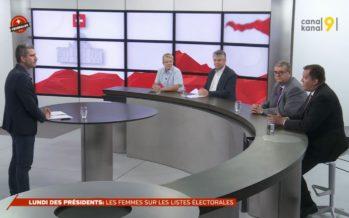 JOURNAL spécial: le lundi des présidents de partis
