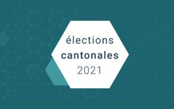 Cantonales 2021: les résultats définitifs du 2e tour