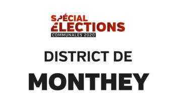 Résultats district de Monthey