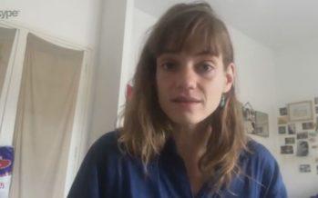 Confinement en France: entretien avec l'actrice valaisanne Noémie Schmidt