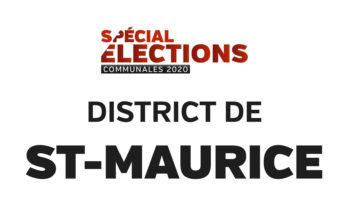 Résultats district de St-Maurice
