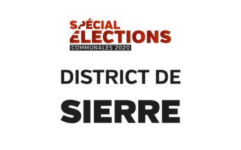 Résultats district de Sierre