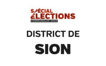 Résultats district de Sion