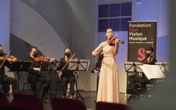 Sion Festival: les jeunes prodiges du violon s'affrontent